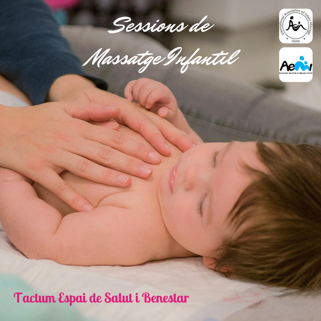 Sessió individual de massatge infantil