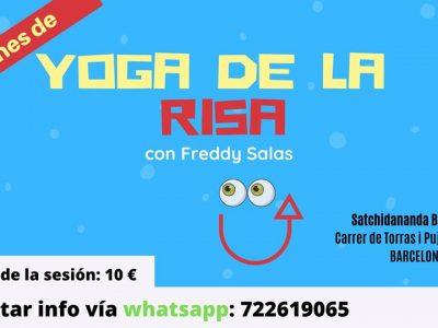 Sesión Yoga de la Risa Risoterapia Sant Gervasi La Bonanova Barcelona