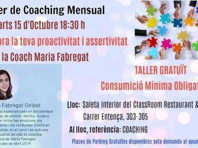 Millora la teva proactivitat i assertivitat amb Maria Fabregat