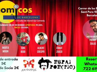 Sábado de Monólogos / Cómicos de Barcelona