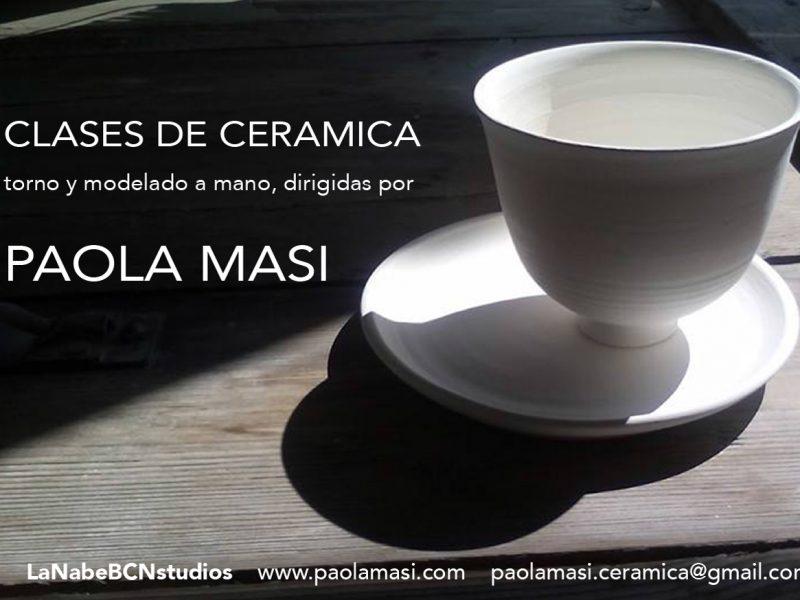 clases de ceramica en taller profesional