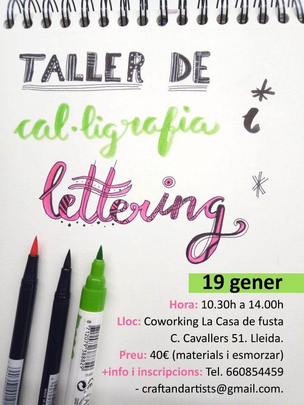 Taller de Cal·ligrafia i Lettering