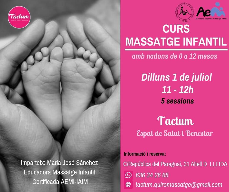 Curs de Massatge Infantil