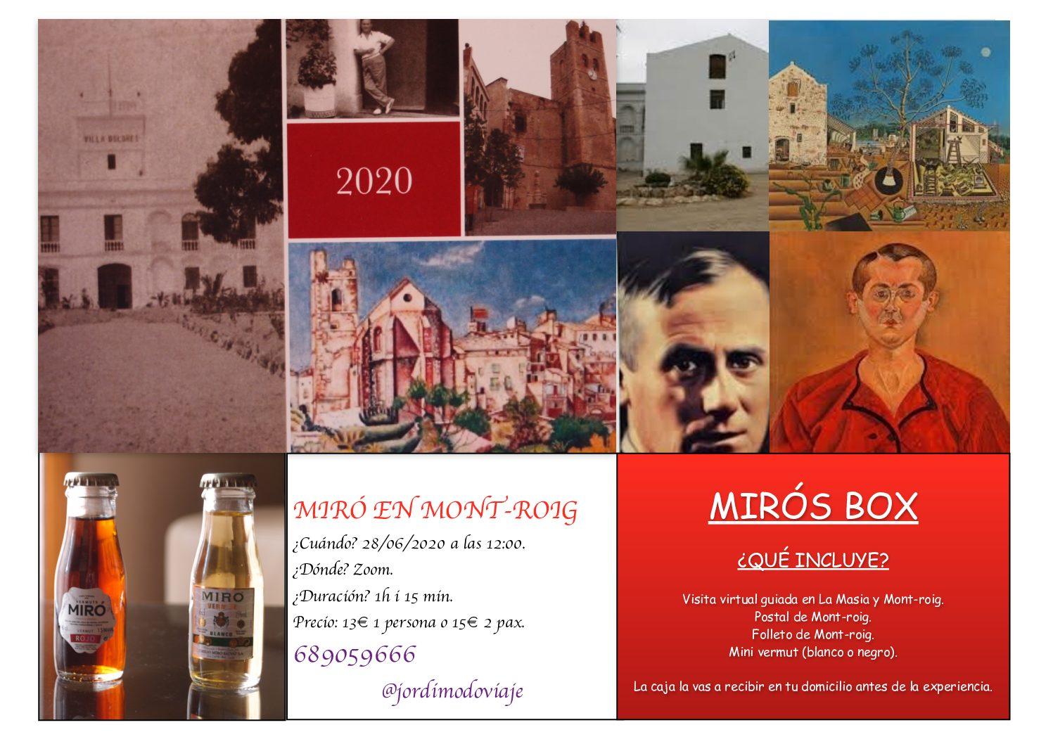 Experiencia virtual Miró: Mont-roig con los ojos de Joan Miró