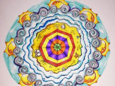 Píldora Online Creativa: Clase de Mandalas Veraniegos