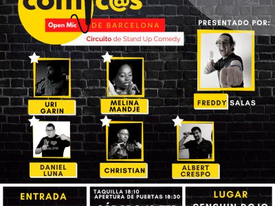 Sábado de Monólogos Cómic@s de Barcelona 13-02-21