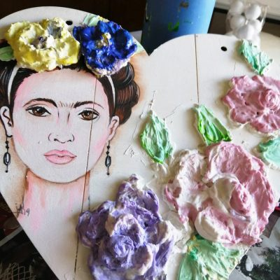 Taller Relieve Dimensional Frida