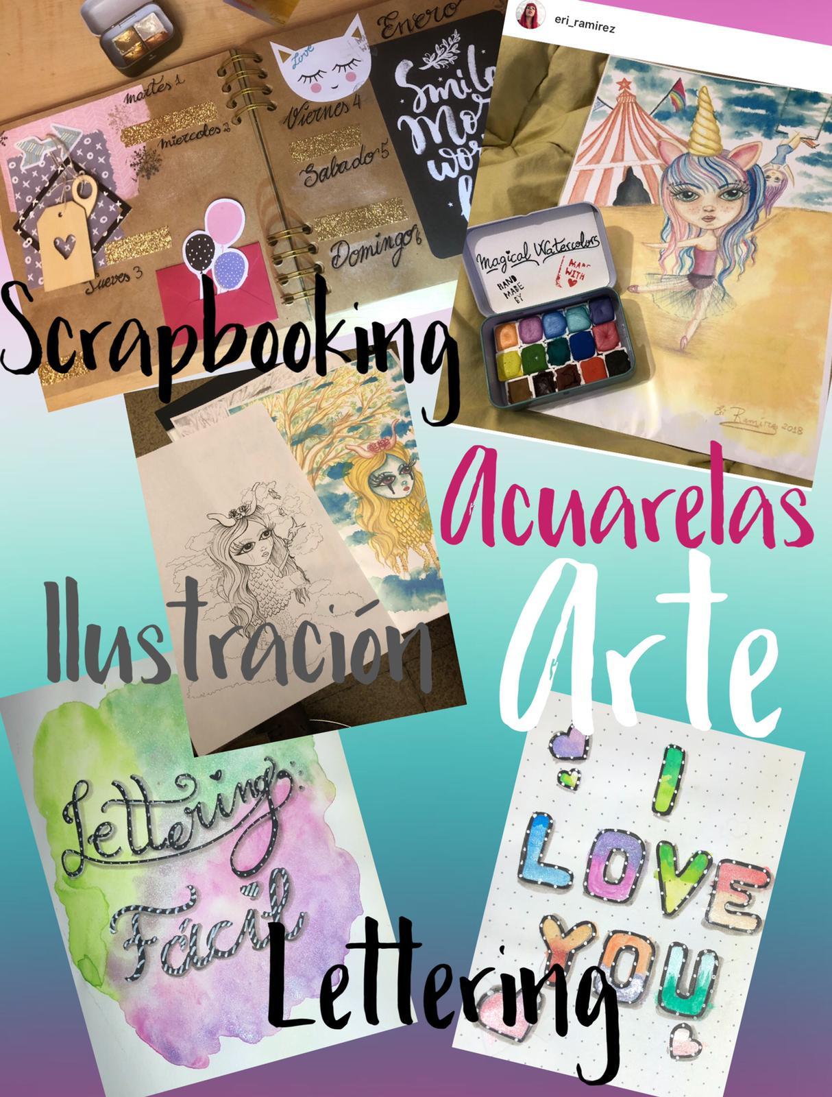 Talleres creativos de lettering y caligrafía