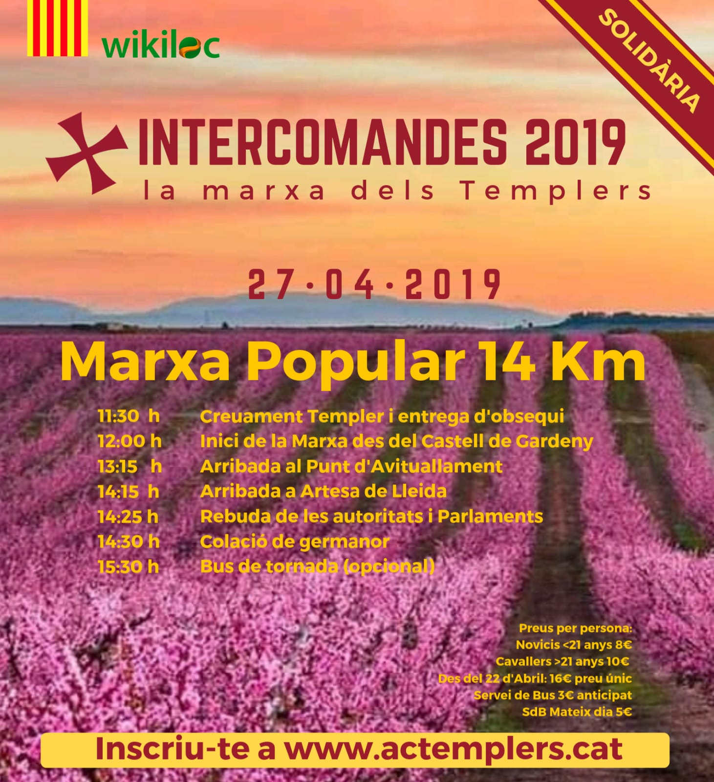 Cursa Intercomandes 2019