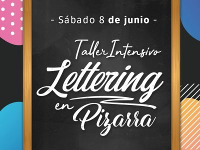 Taller de Lettering de Pizarras en Barcelona