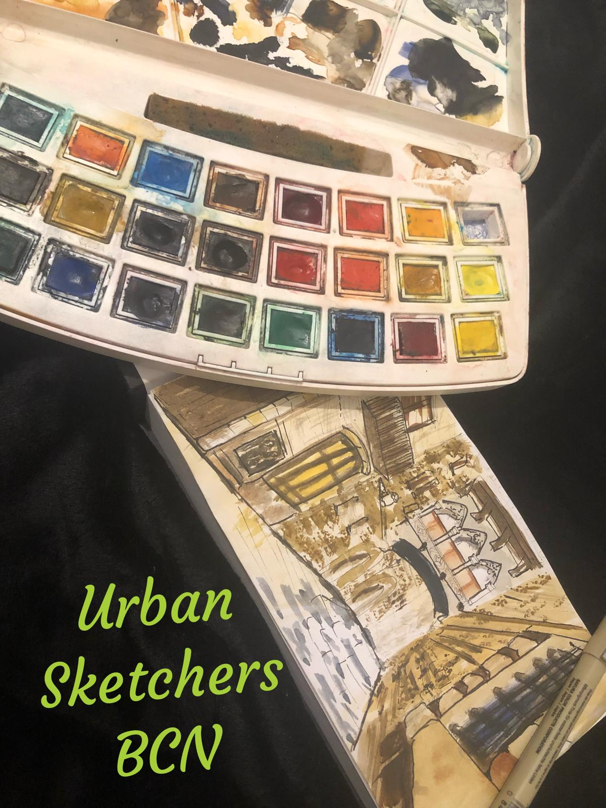 Urban Sketchers en Barcelona