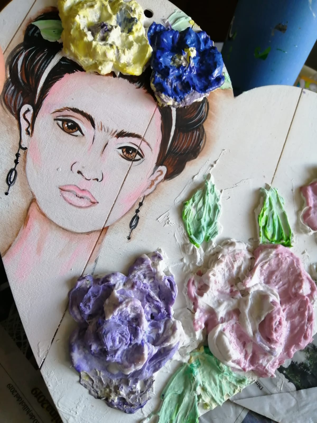 Crea tu primer Dimensional: Frida Kahlo