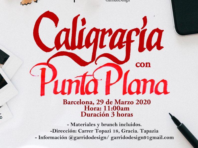 Taller de Caligrafía de Punta Plana con Brunch