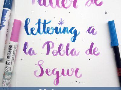 Taller de Cal.ligrafia i Lettering a la Pobla de Segur