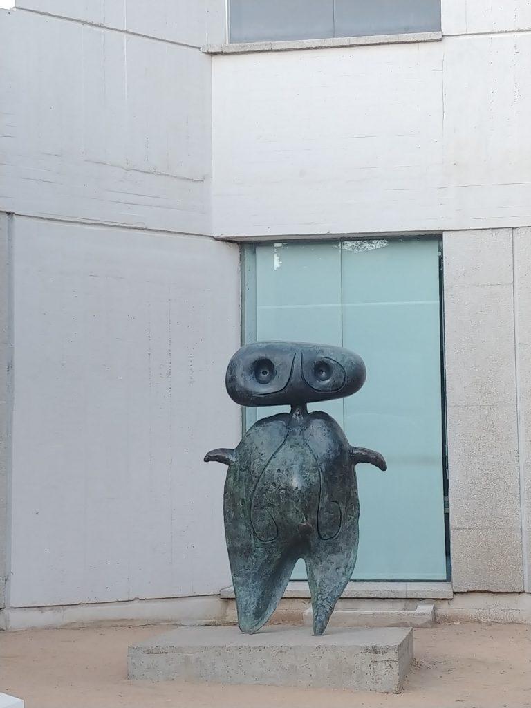 Escultura de Joan Miró