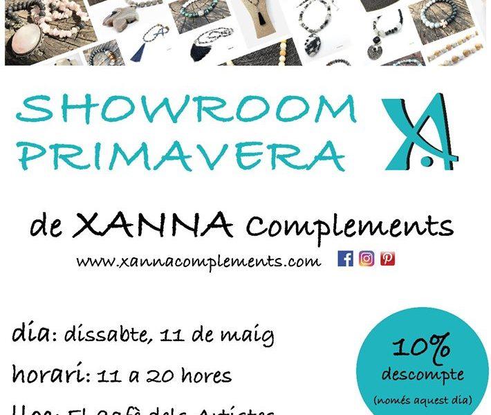 Showroom Xanna complements + vermut de Festa Major al Cafè dels Artistes