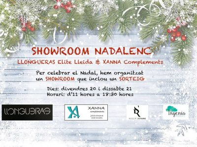 Showroom Nadalenc Llongueras Elite & Xanna complements