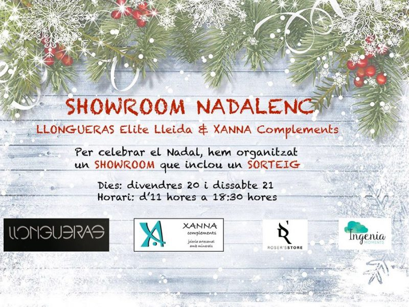 Showroom Nadalenc Llongueras Elite & Xanna complements