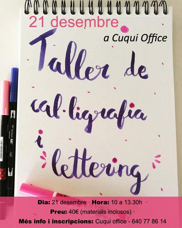 Taller de cal.ligrafia i Lettering Lleida