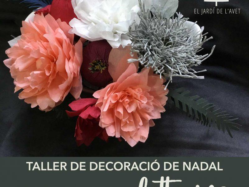 Skilbo Skilbo Decoracion Navidena Lettering Y Flores De Papel