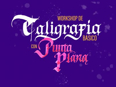 Workshop de caligrafía con Punta plana
