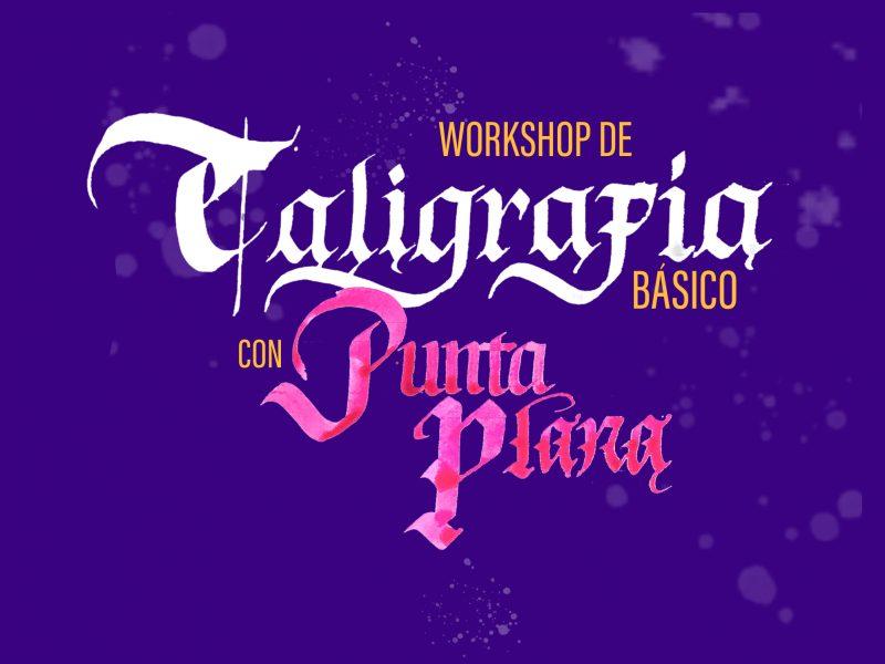 Workshop de caligrafía con Punta plana